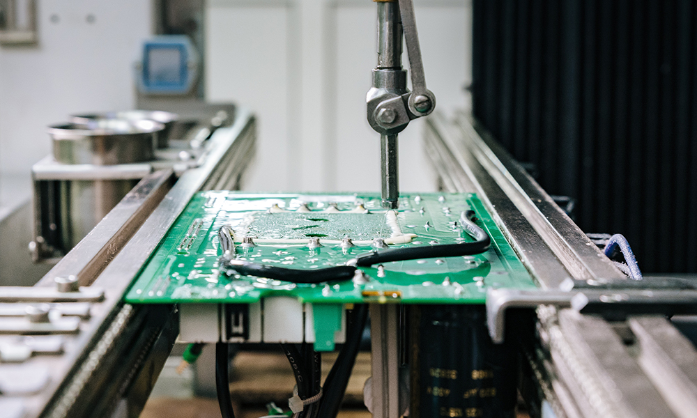 conformal coating scheda