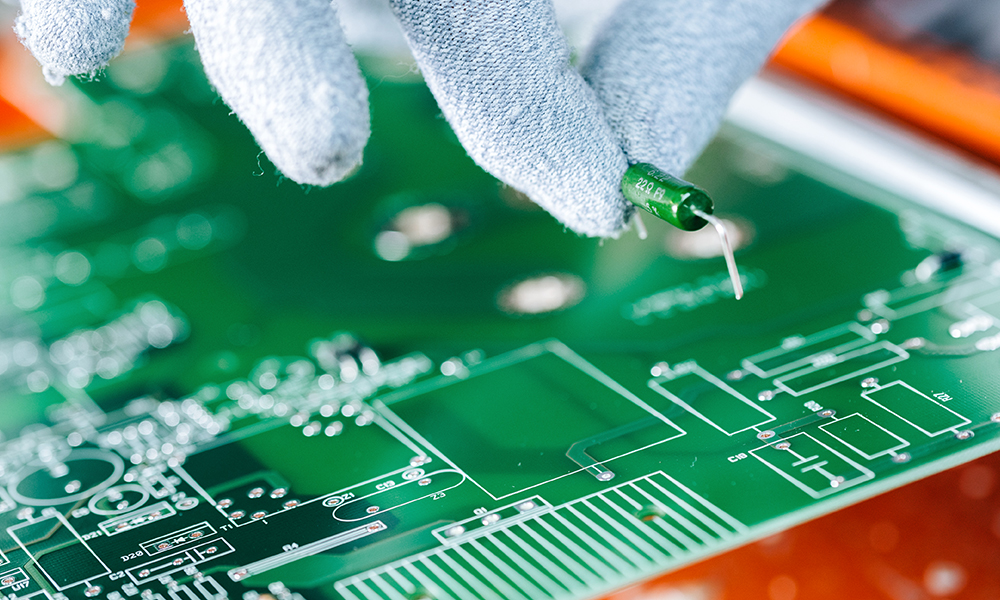 manifattura di scheda elettronica